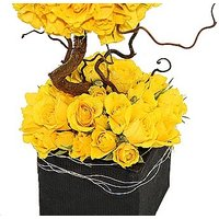 Luxury Yellow Roses Design