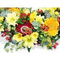 Sun Tan Wreath
