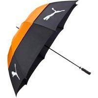 Puma Dual Canopy Umbrella - Black / Orange