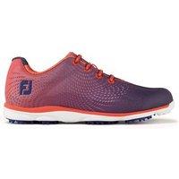 FootJoy Womens emPower Golf Shoes - Papaya/Navy 4 Wide