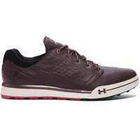 Under Armour Tempo Hybrid Golf Shoes - Brown UK 7