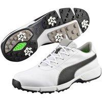 Puma - IGNITE Drive Golf Shoes - White / Black UK 7