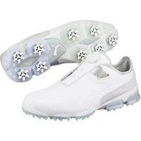 Puma TitanTour IGNITE Premium DISC Golf Shoes - White UK 7