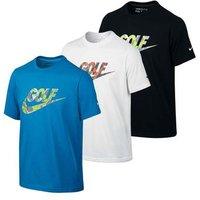 Nike Boys Junior Camo Logo T-Shirt (NJAW151)