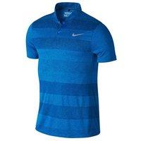 Nike MM Fly Blade Stripe Polo - Photo Blue XX Large