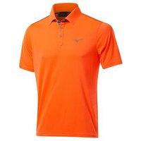 Mizuno Piquet Golf Polo Shirt - Clown Fish Orange Small
