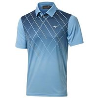 Mizuno Sublimation Golf Polo Shirt - Norse Blue X Large
