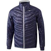 Mizuno Breath Thermo Full Zip Jacket - Peacoat Small