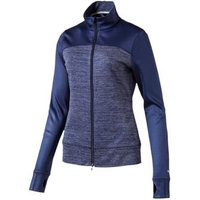 Puma Colourblock Full Zip Ladies Jacket - Peacoat Small
