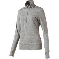 Puma 1/4 Zip Ladies Popover - Grey Small