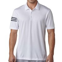 Climacool 3-Stripes Club Crestable Polo Shirt - White Mens Small White