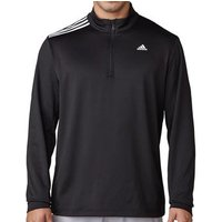 3-stripes French Terry Sweatshirt - Black Mens X Large Black