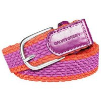 WIN Braided Belt Ladies Small Wild Orchid/Sunset 75cm