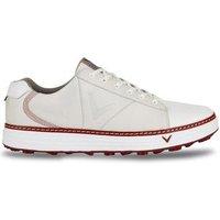 Del Mar Retro Golf Shoe Mens UK 7 Medium Putty/White