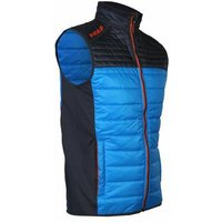 ProQuip Therma Tour Quilted Gilet - Pewter/Cyan Small