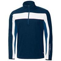 Galvin Green Blake Half-zip Windstopper Jacket - Navy/blue/white/electric Red Medium