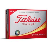 Titleist DT TruSoft Yellow 2018 Golf Balls 1 Dozen