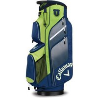 Callaway Chev Org Cart Bag 2018 - Navy/green/silver