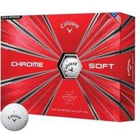 Callaway Chrome Soft Golf Balls - White 1 Dozen
