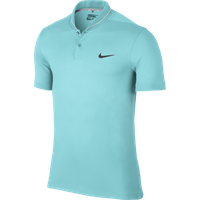 Nike Mens Modern TR Roll Polo Shirt - Copa / White / Wolf Grey / Anthracite Large