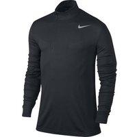 Nike Dri-Fit 1/2 Zip Knit - Black X Large
