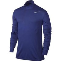 Nike Dri-Fit 1/2 Zip Knit - Deep Night Small