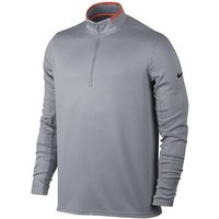 Nike Dri-Fit 1/2 Zip Top - Grey Medium