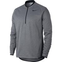 Nike Half Zip Therma Top - Grey Medium