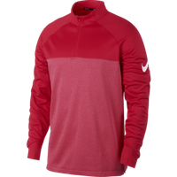 Nike Half Zip Core Therma Top - Red Small