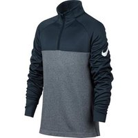Nike Boys Half Zip Therma Top - Navy Small