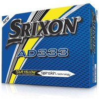 Srixon AD333 2016 Golf Balls Yellow 1 Dozen