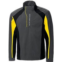 Galvin Green Addison Half-Zip Gore-Tex Jacket - Iron/Black/Yellow Medium