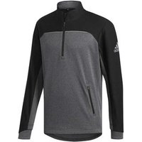 Adidas Go-to 1/4 Zip - Black/grey Go-to 1/4 Zip - Black/grey Mens Medium Black