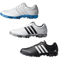 Adipure flex WD Mens UK 7.5 Wide Black/White