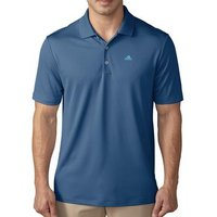 Adidas Performance Polo Shirt - Core Blue Gender: Mens, Size: Small, Colour: Core Blue