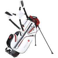Big Max Aqua 8 Stand Bag - White/Black/Red