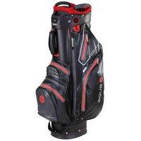 Big Max Aqua Sport Cart Bag - Black/Red