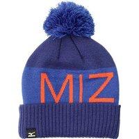 Mizuno Bobble Hat - Light Blue / Dark Blue / Orange