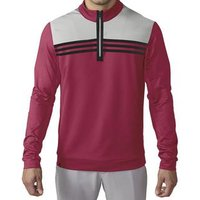 Adidas Climacool Colourblock 1/4 Zip Layer - Unity Pink / Stone / Black
