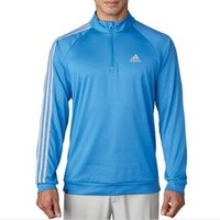Adidas 3 Stripe 1/4 Zip LC Pullover - Ray Blue