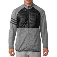 Adidas Climaheat Quilt Half Zip Jacket - Black Medium