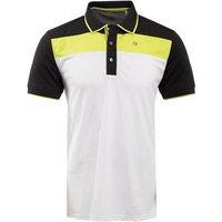 Calvin Klein Street Polo - Lime / Black / White Small