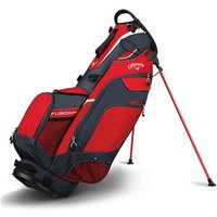 Callaway Fusion Stand Bag 2018 - Red/titanium/silver