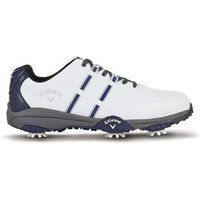 Callaway Golf Chev Mulligan Shoes - White / Blue / Grey UK 7.5
