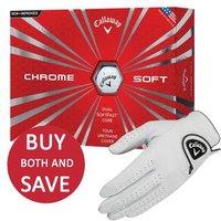 Callaway Chrome Soft Golf Balls and Dawn Patrol Glove Offer