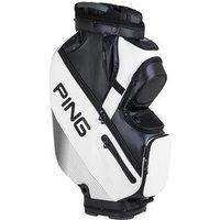 Ping DLX Cart Bag 2017 - White / Black