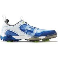 FootJoy Freestyle Golf Shoes White Electric Blue UK 75