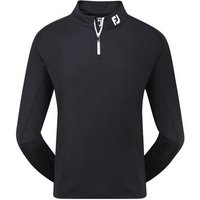 FootJoy Mens Chill-Out Pullover - Black Small