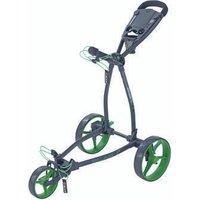 Big Max Blade+ Golf Push Trolley - Black/Lime