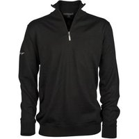 Greg Norman Unlined Zip Neck Merino - Black Mediun
